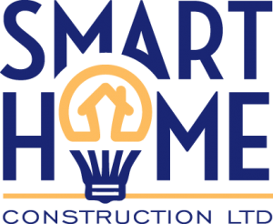 Smart Home Construction Logo