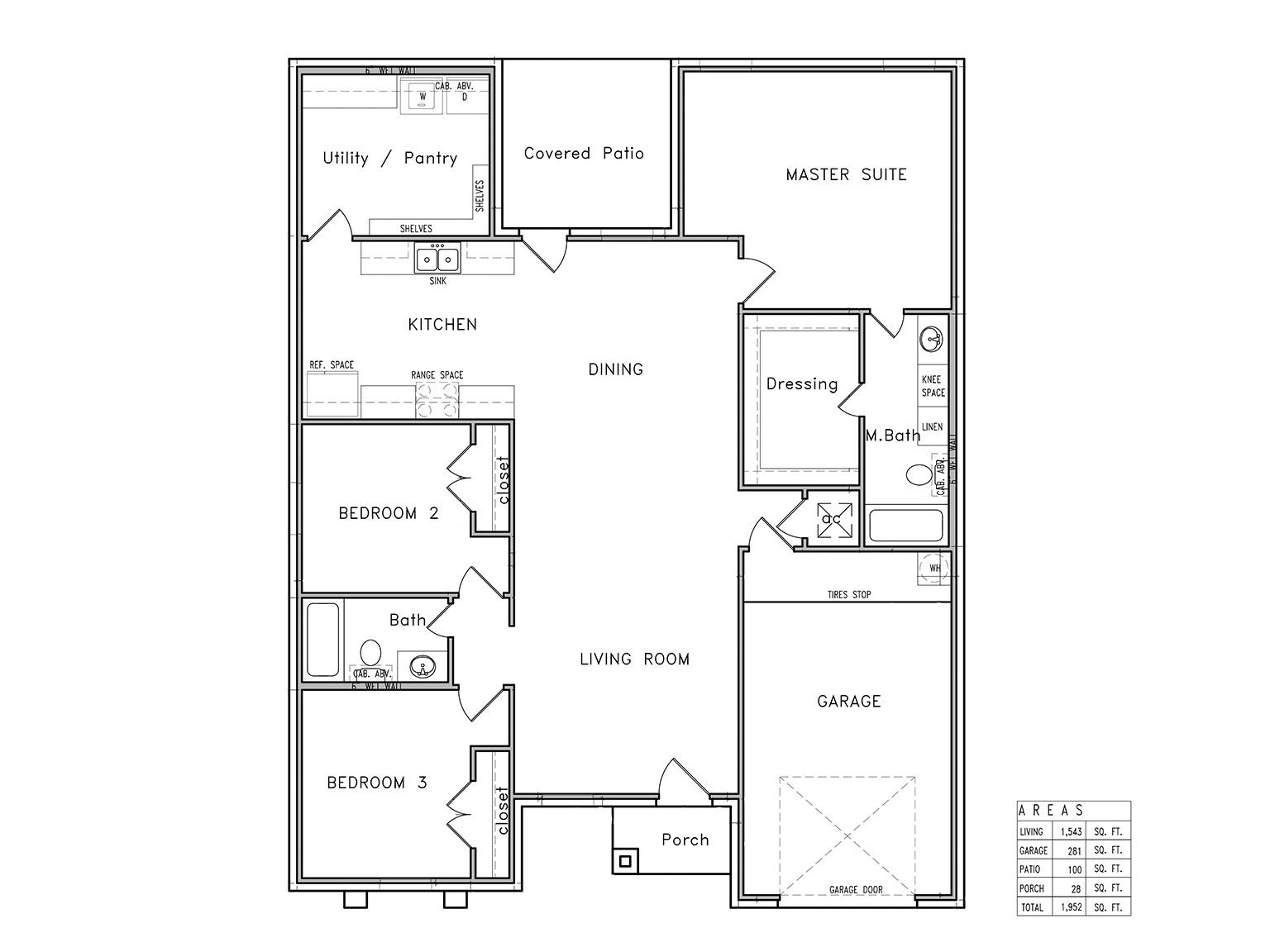 Model 1543 Plan, Primera Grove, Harlingen
