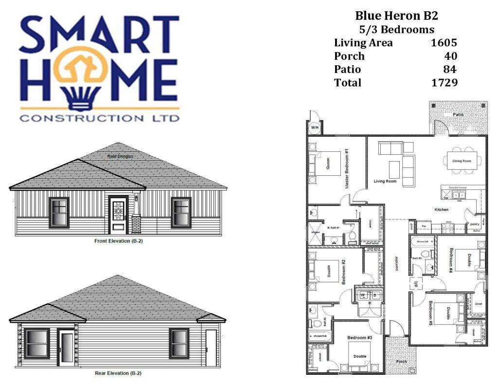 Model Blue Heron B2 5-3
